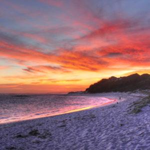 Munglinup Beach Sunset Canvas