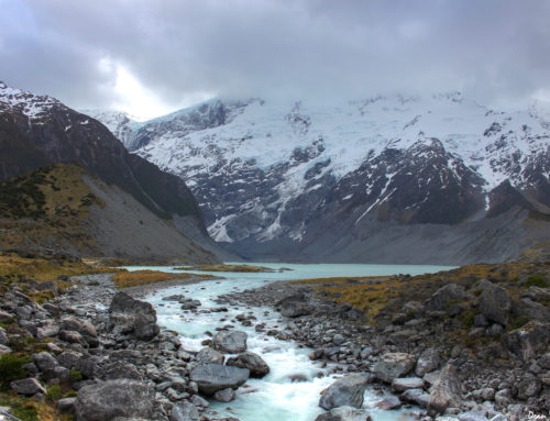 The Spectacular Hooker Valley in New Zealand
